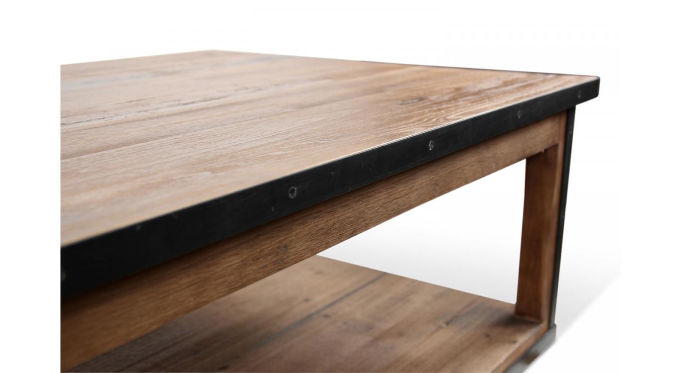 Table basse Bois Marron 120x80x43cm