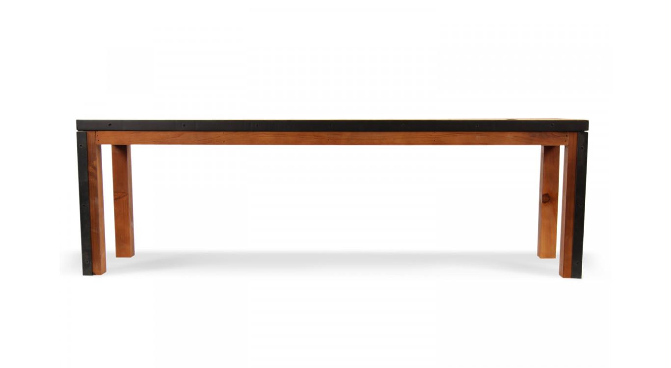 Banc Bois Marron 140x35x44,5cm