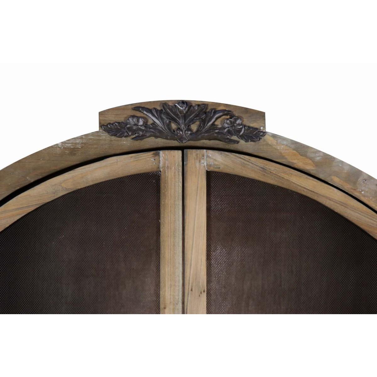 Buffet Vaisselier Rangement Bois 84.5x41.5x184cm