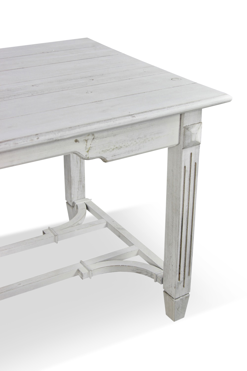 Table bois ceruse - Table basse bois blanc ceruse ...