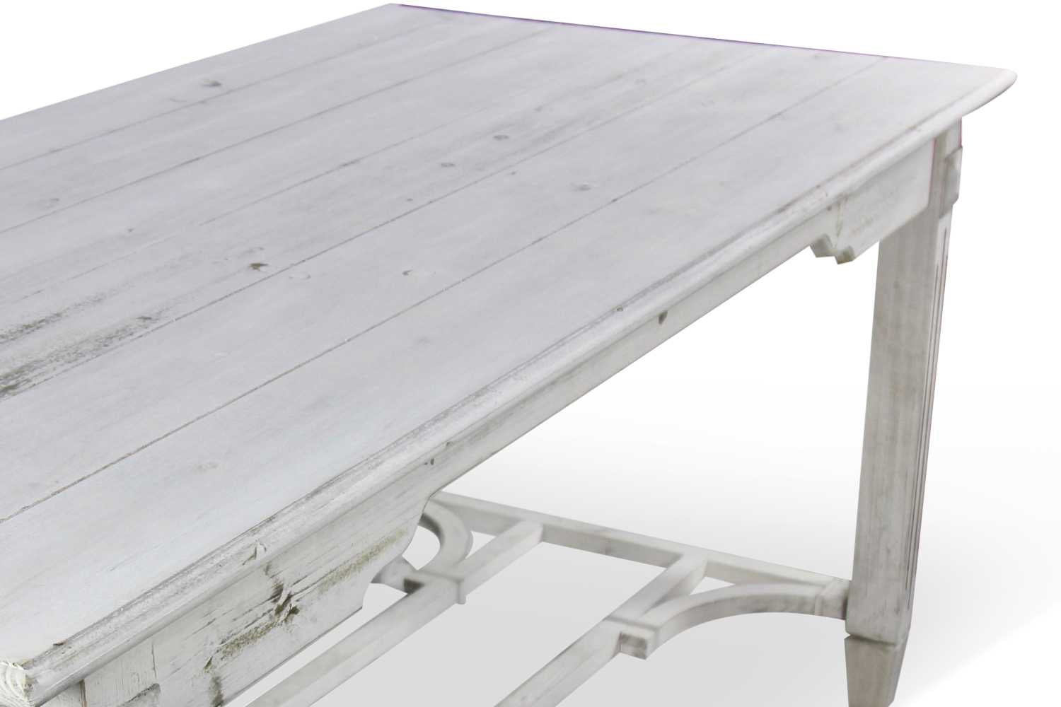 Table bois ceruse for Table bois blanc