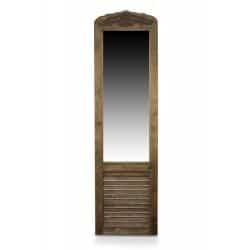 MIROIR ANCIEN RECTANGULAIRE VERTICAL BOIS 48.5x5x170cm