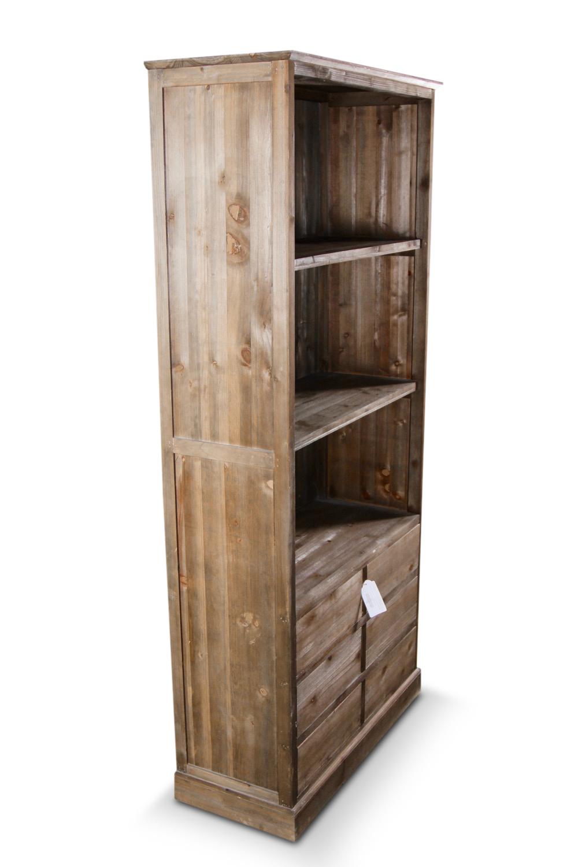 buffet vaisselier rangement bois 6 tiroirs nu 78x34x168cm. Black Bedroom Furniture Sets. Home Design Ideas