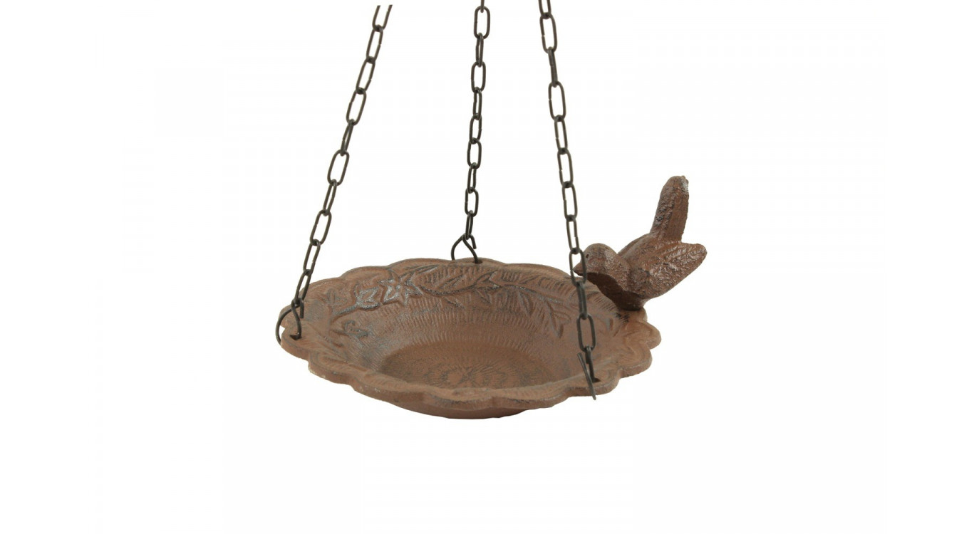 Mangeoire Oiseau Suspendu Fonte