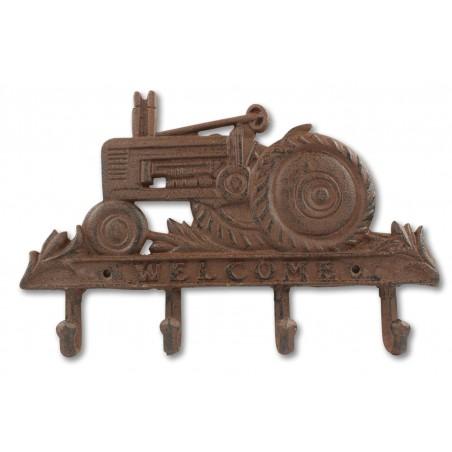 Porte Serviettes Accroche Tracteur Fonte