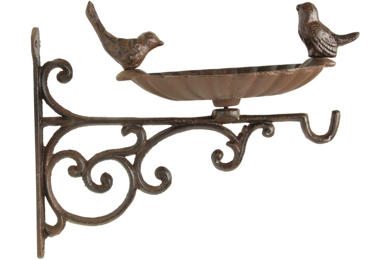 Crédance Abreuvoir Oiseaux Fonte