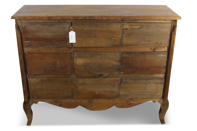 meuble bas rangement bois 9 tiroirs nu 121x40x94cm. Black Bedroom Furniture Sets. Home Design Ideas