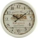 Horloge Ancienne Murale Château Grand Bordeaux 58cm