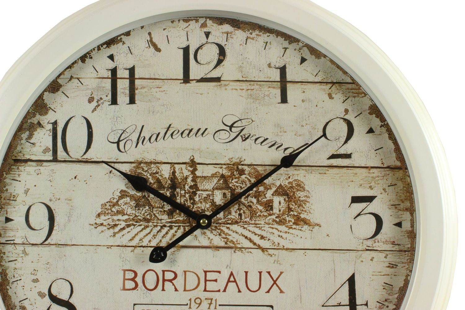 horloge ancienne murale ch teau grand bordeaux 58cm. Black Bedroom Furniture Sets. Home Design Ideas
